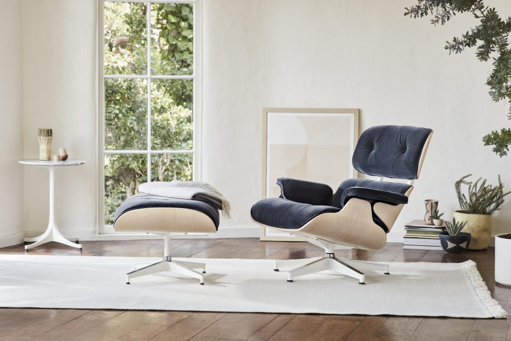 Lounge chair van Eames icon